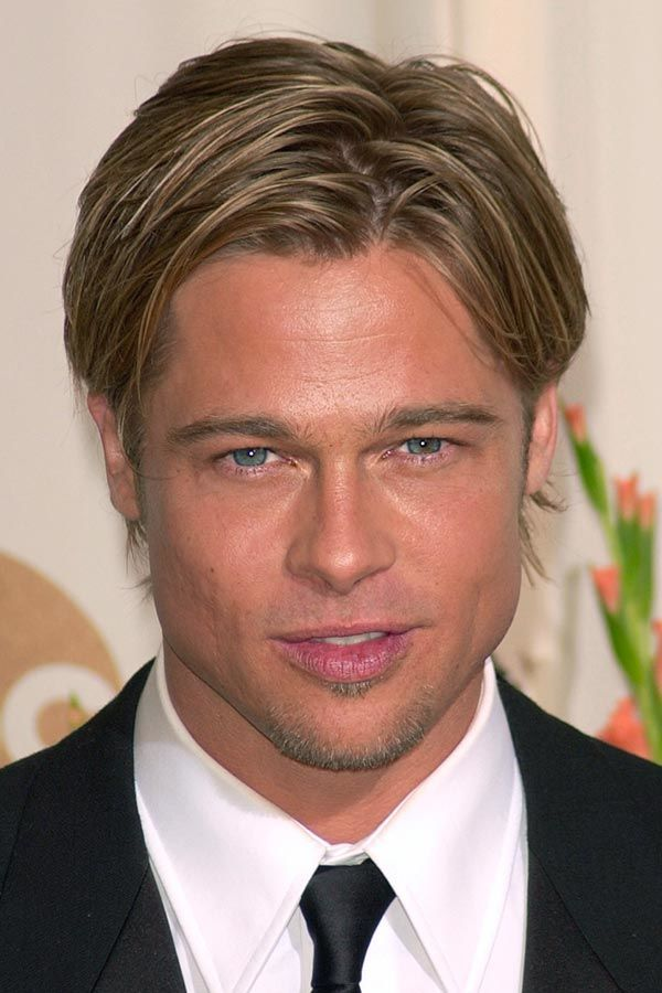 Brad Pitt Fury Haircut Ideas To Pull Off Menshaircuts Com Fury Haircut Brad Pitt Long Hair Brad Pitt Hair