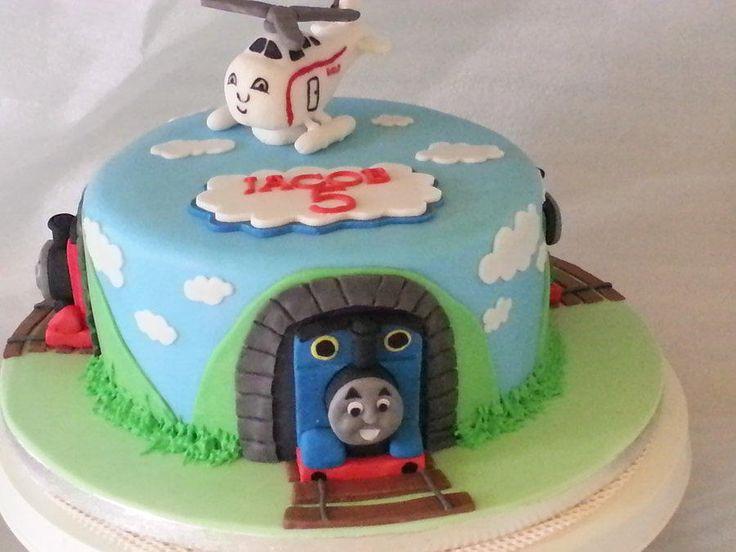 thomas and friends birthday cake