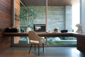 F-5 Residence - Modern - Home Office - los angeles - by Studio AR+D Architects