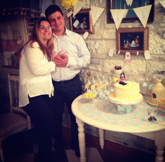 happy birthday Sanem!!! April, 2014  #happydays #lola38celebrations #cake #family #friends #foca #turkey
