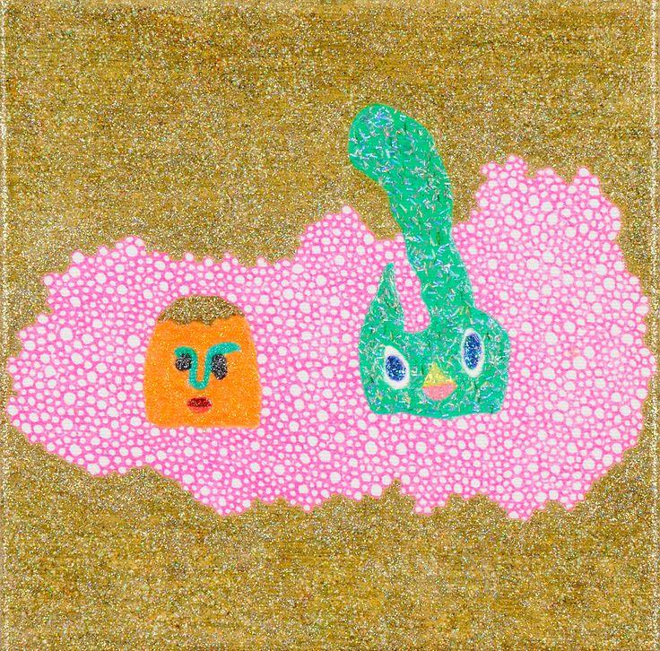 混浴 / Tomoaki TARUTANI #ART #Contemporary ART #POP ART #Mandala #曼荼羅