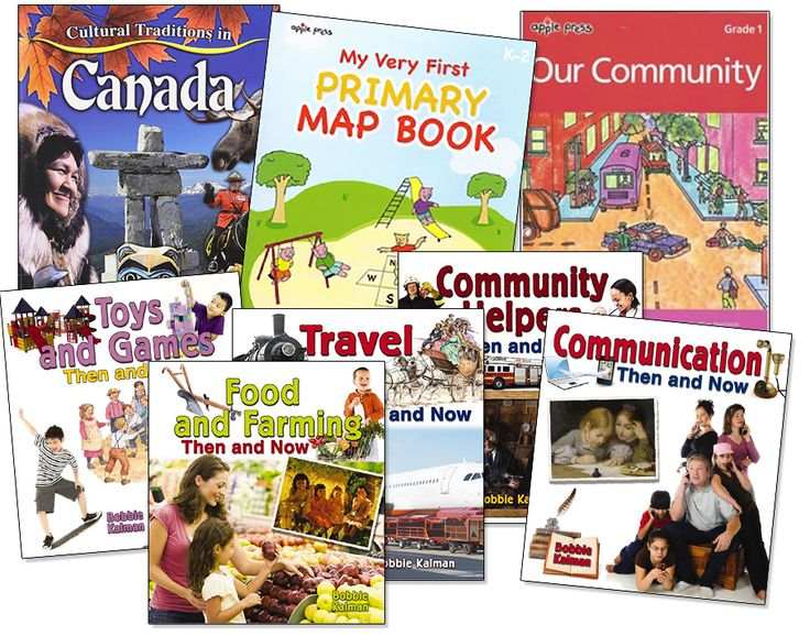 Grade 1 Social Studies Bundle - Northwoods Press