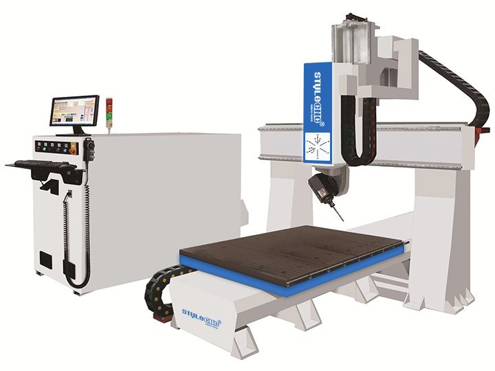 Small 5 axis cnc machining center is an entry-level five-axis machining center with HSD 5 axis spindle and Taiwan Syntec controller, We can customized all kinds of types according to customer's special requirements.