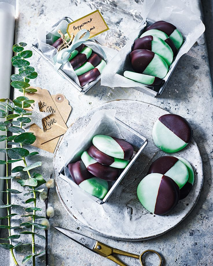 You'll never look at After Eights the same after trying one of these peppermint creams. The recipe makes 35-40 which means you can wrap half up as a gift, and save half for yourself.