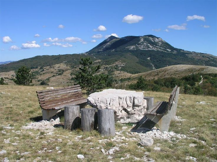 Ucka trail,  September,  Green(72km), Blue (42 km), Perun (16km)