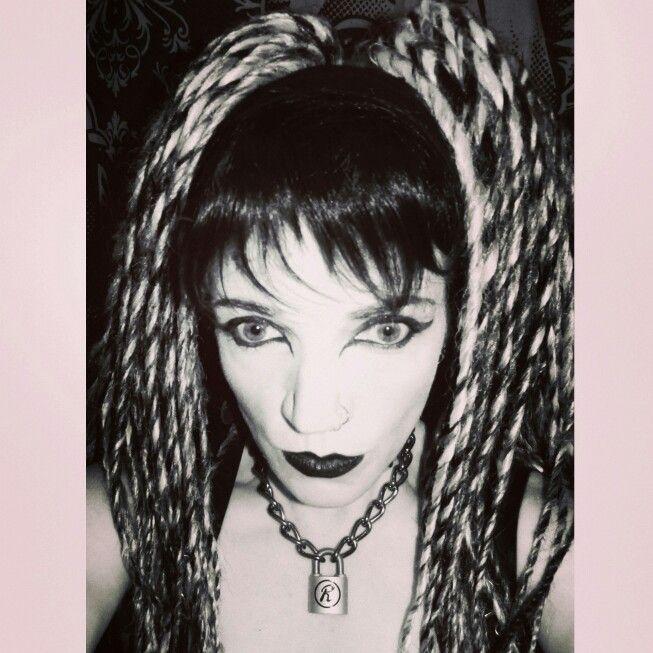 Cyberpunk/Cybergoth Makeup