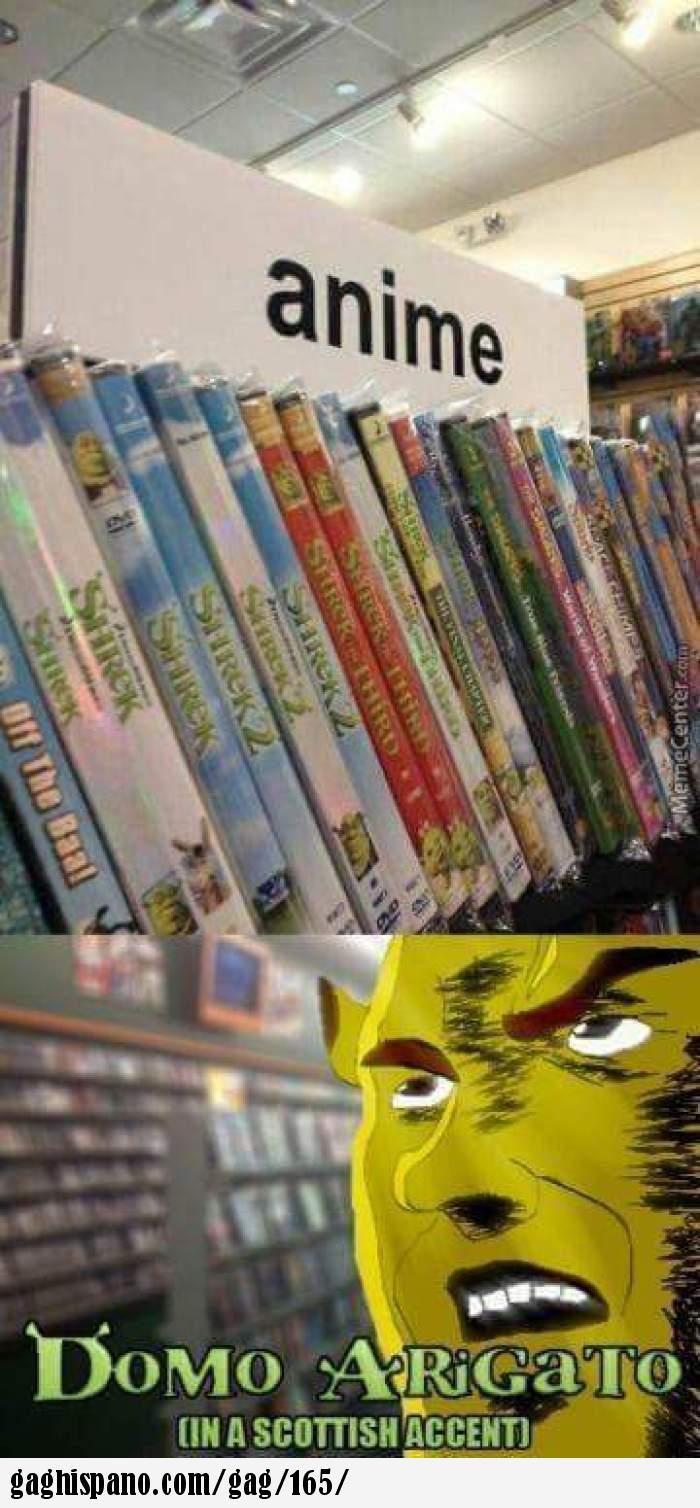 shrek anime!