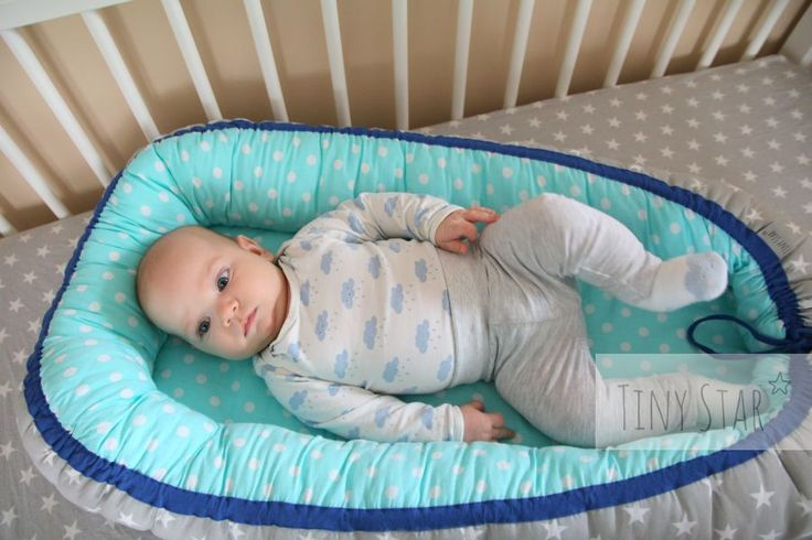 Gniazdko niemowlęce TINY STAR, dla maluszków 0-6 miesięcy <3