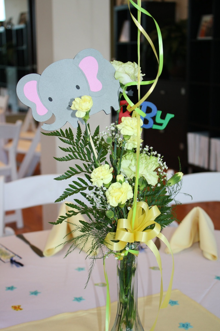 Safari/Jungle Centerpieces by 1CreativeMommy on Etsy, $5.00