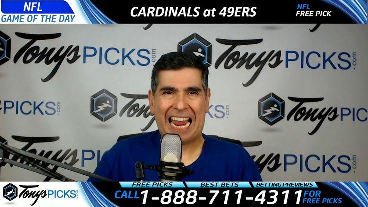 Arizona Cardinals vs. San Francisco 49ers Free NFL Football Picks and Pr...