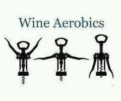 ...  :-)Wineaerob, Laugh, Quote, Wine Aerobics, Funny Stuff, Humor, Work Out, Things, Workout