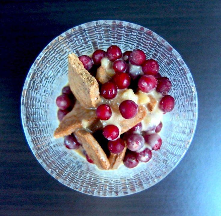 Puolukkajälkiruoka luontaisesti gluteeniton vegaaninen Erikoisen Hyvää
