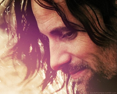 Viggo Mortensen as Aragorn/the Strider in Lord of The Rings