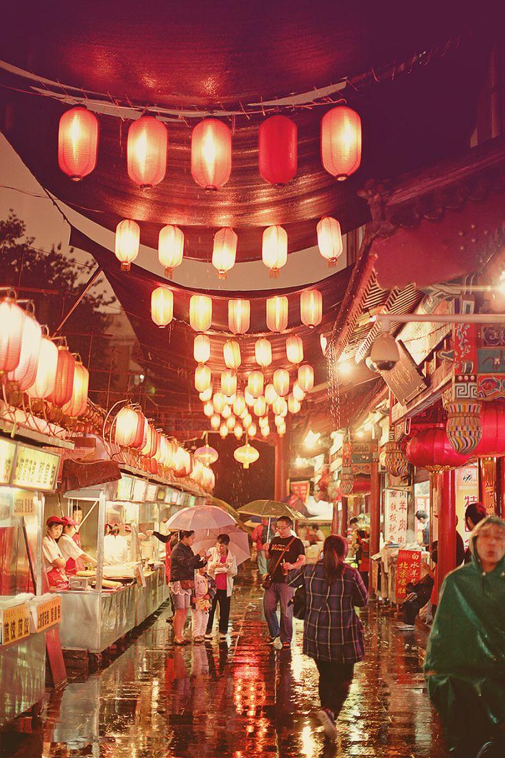 night market, Beijing, China - photography by Brandon Kidd