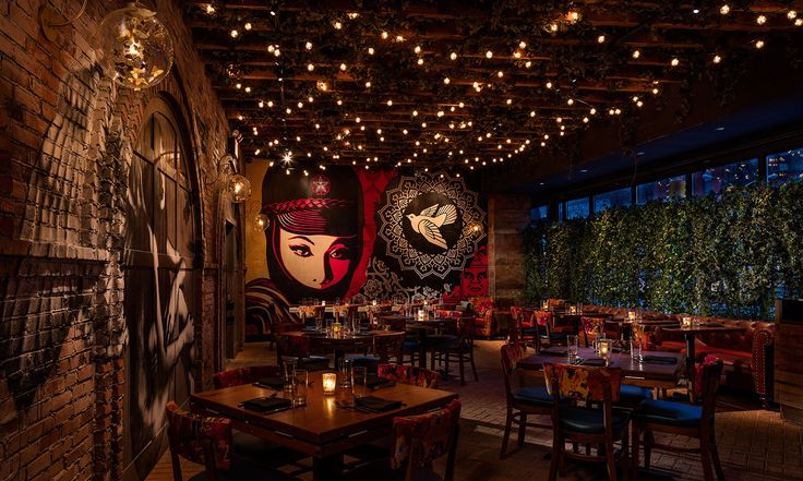 Vandal, Tao Group's latest glam-gastro venture on the Bowery…