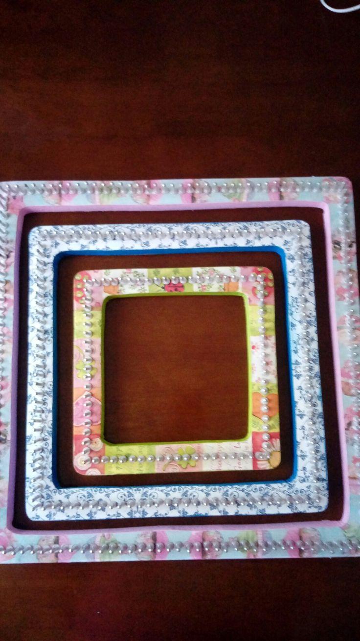 Hermosos telares cuadrados para trabajar mas inspirada Hechos por mi