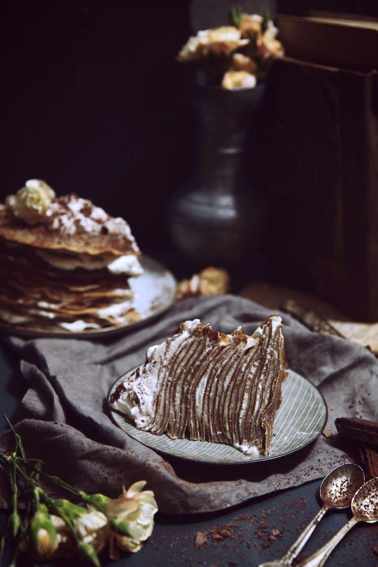 St[v]ory z kuchyne | Tiramisu Crepe Cake