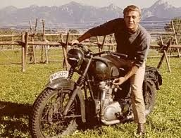 steve mcqueen motorcycle - + Paul Newman LINK https://www.pinterest.com/pin/560698222349553245/
