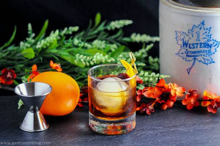 Maple Old Fashioned – A Bourbon Cocktail
