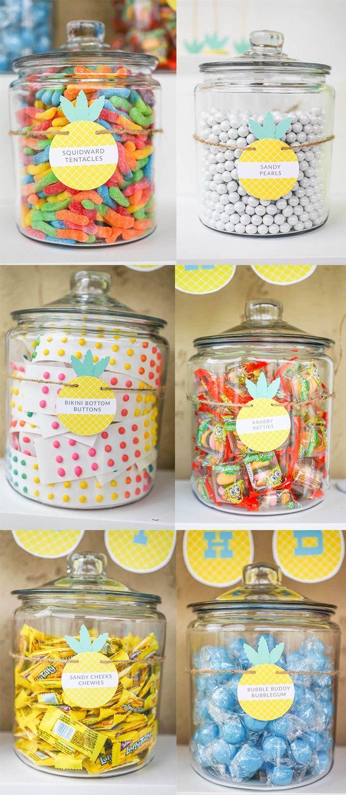 Spongebob Candy Ideas