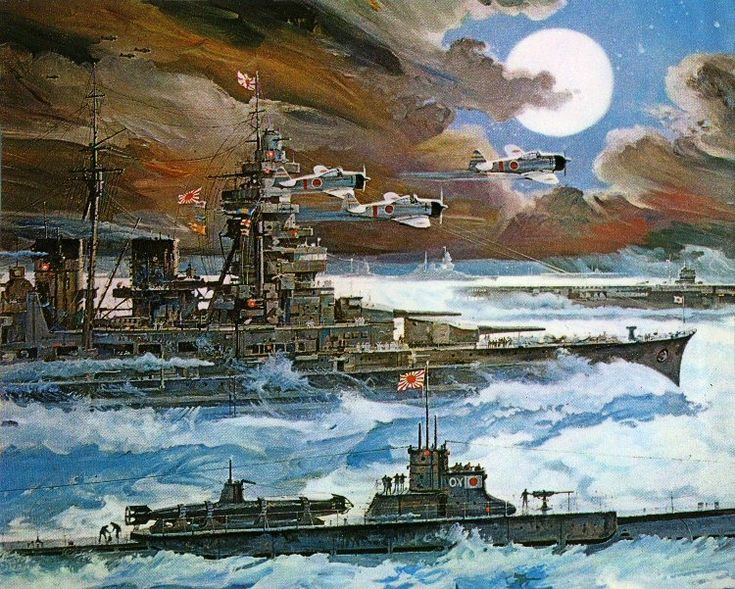Historyfan Art by Robert McCall for 1970 20th Century Fox Movie Tora! Tora! Tora! (1970) The artwork was used for movie posters, theatre lobby cards as well as for the soundtrack!