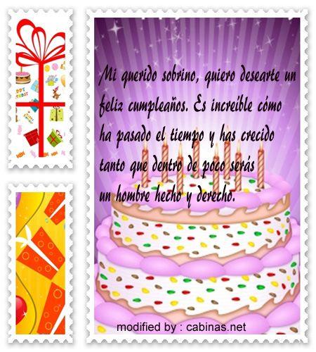 enviar pensamientos con imàgenes muy lindas de felìz cumpleaños para un sobrino, tarjetas muy hermosas con imàgenes para el cumpleaños de mi sobrino favorito