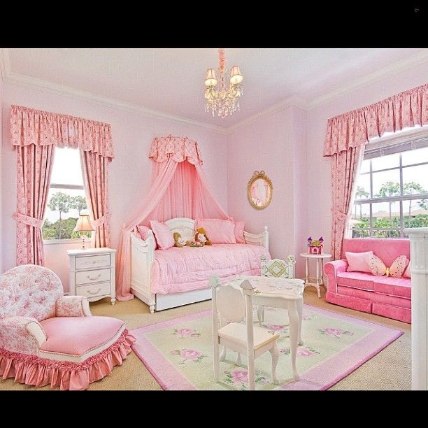 How pretty is this toddler bedroom? #bedroom #instakids #kids #toddler #interiors #homedecor #decor #instahome #instadecor #instadesign #picoftheday #photooftheday #pictureoftheday #instagood #instadaily #igdaily #follow #pink #girls #chandelier... - Interior Design Ideas, Interior Decor and Designs, Home Design Inspiration, Room Design Ideas, Interior Decorating, Furniture And Accessories