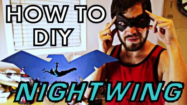 How to DIY Cosplay: NIGHTWING - 01 (MAKING THE MASK)