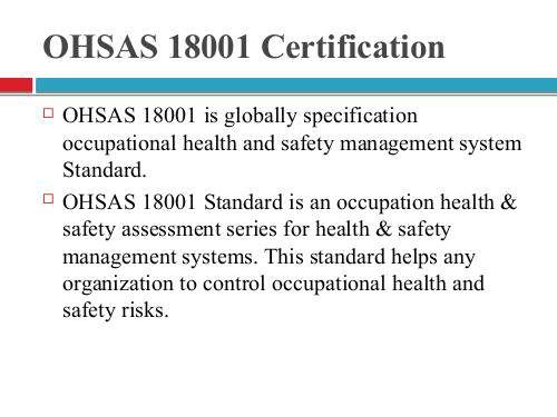 16 best OHSAS 18001 Certification images on Pinterest Health and - manual handling risk assessment