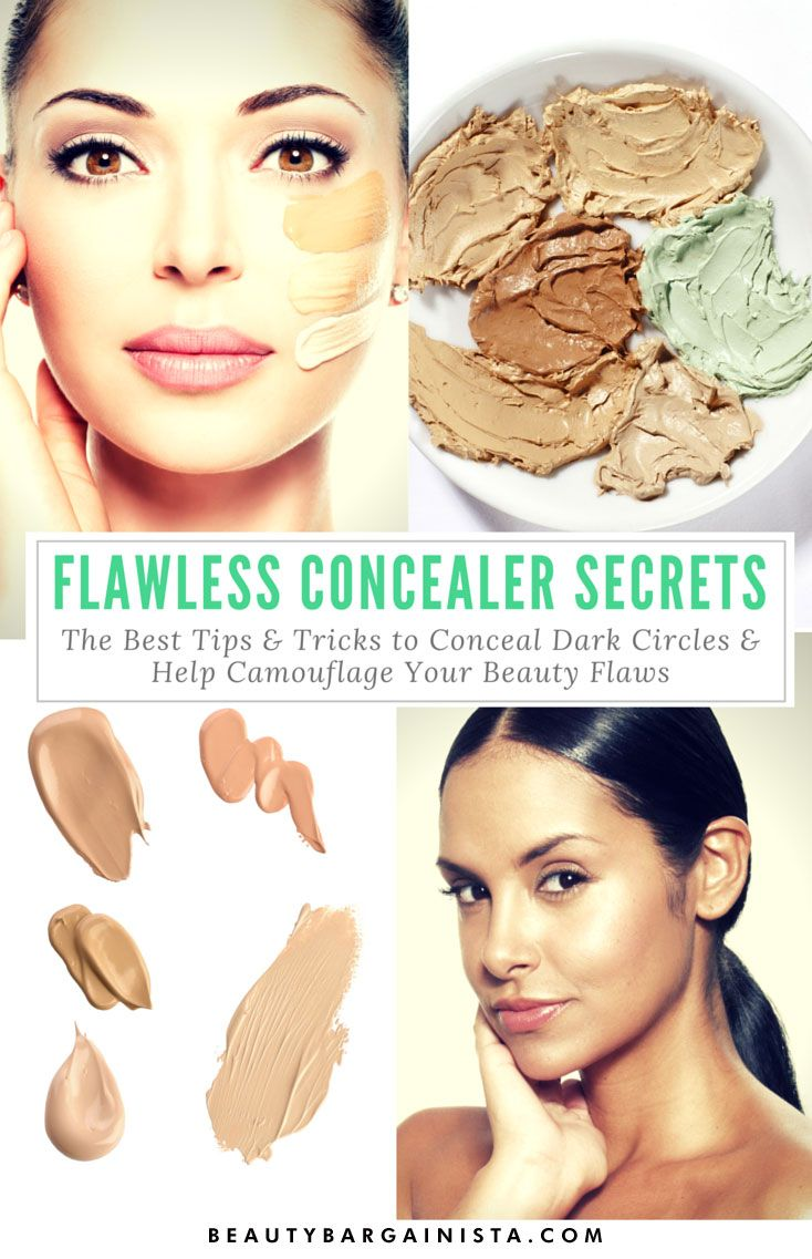 Learn how to apply concealer to dark circles, pimples, and dark spots the RIGHT way using these helpful and timeless makeup tips.