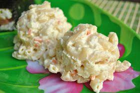 Hawaiian Plate Lunch-style Macaroni Salad