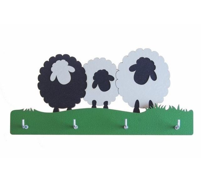 Sheep design Key-wi As key holder by New Zealand designer Ian Blackwell.