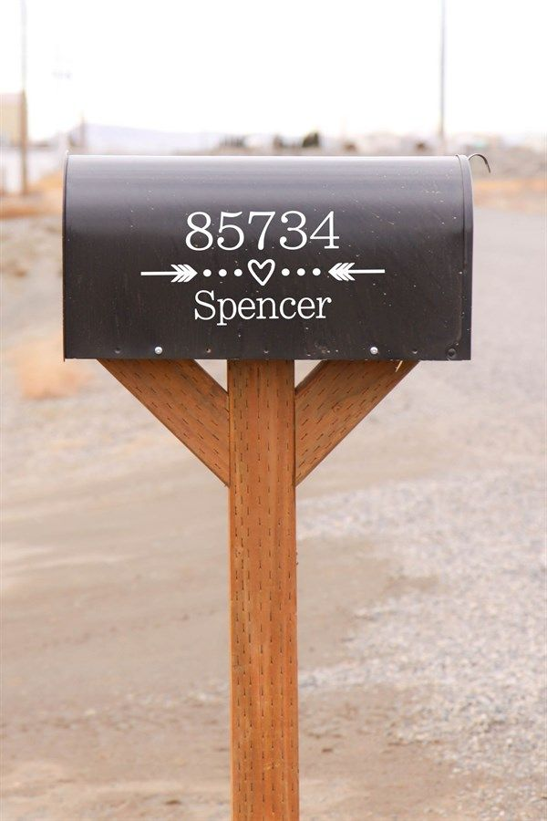 This deal offers to you a variety of our newest custom mailbox vinyl decal designs. Following are the dimensions for each of the designs available to you. You will love your vinyl mailbox decal by The Vinyl Company!