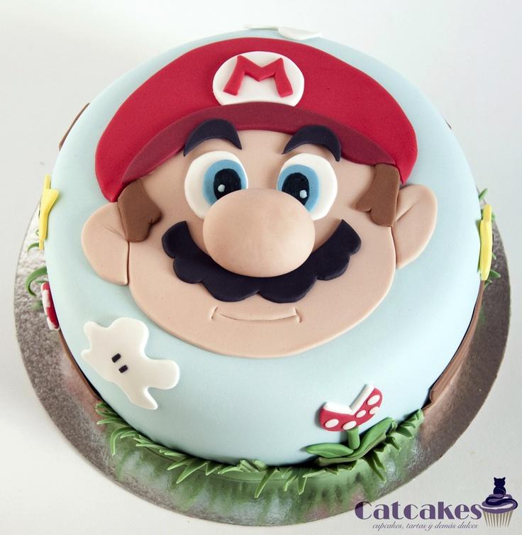 mario bross cake pasteles de fondant pinterest cakes mario cake and mario. Black Bedroom Furniture Sets. Home Design Ideas