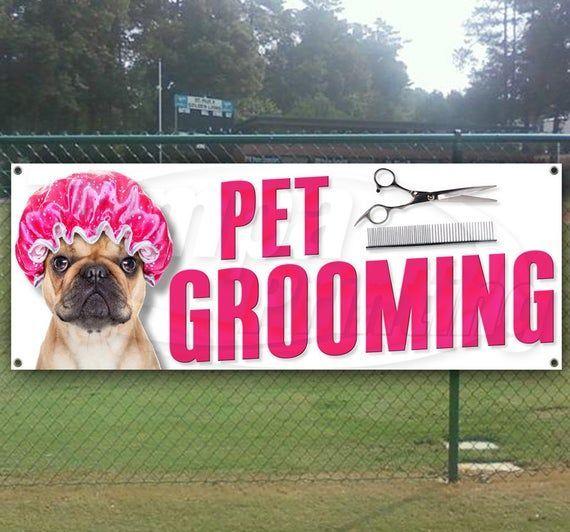 Pet Grooming Banner Grooming Banner Haustierpflege Banner