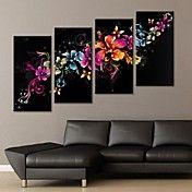 opgespannen doek kunst prachtige bloem decora... – EUR € 65.99