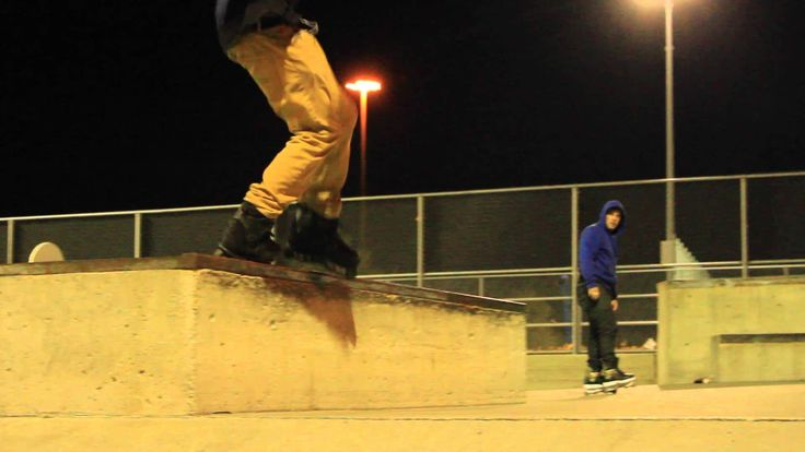 Quick clips with Brandon Reitsma at Iceland Skatepark.