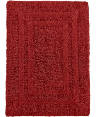 """Hotel Collection Cotton Reversible 18"""" x 25"""" Bath Rug $50.00 Pamper your feet with this super-soft reversible bath rug from Hotel Collection in eight understated hues to match any bath decor. Coordinate with other Hotel Collection towels and accessories."""