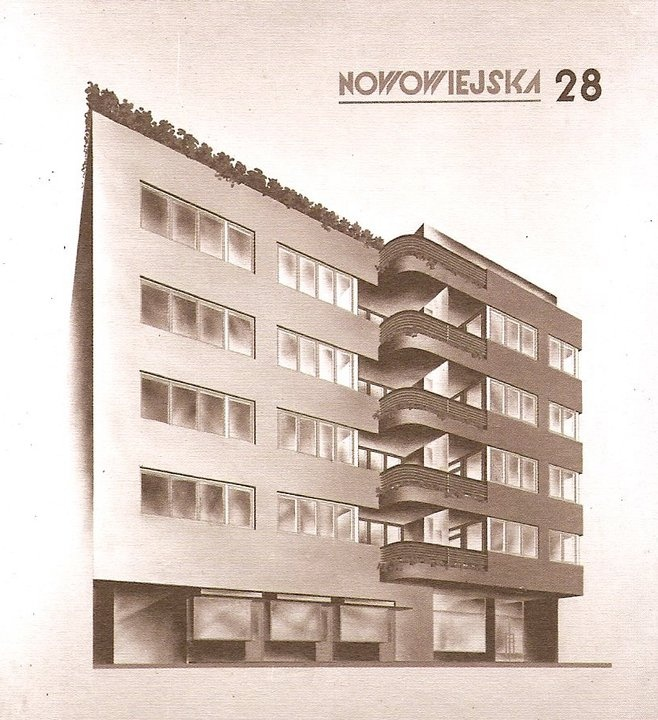 Juliusz Żórawski, Warsaw, 1933-35