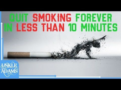 Stop Smoking Now - Subliminal Message Session - By Thomas Hall - YouTube