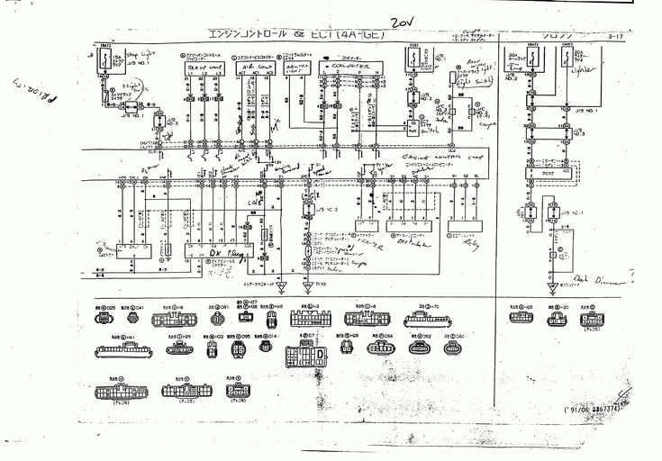 10  1989 Toyota Mr2 Electrical Wiring Diagram
