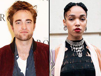 Rober Pattinson mad of FKA Twigs