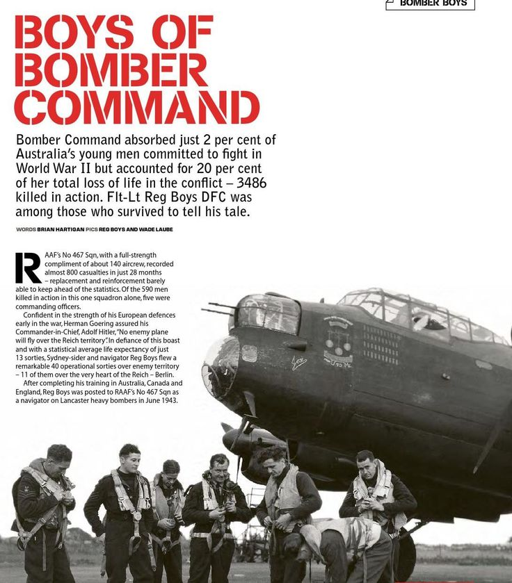 Interview with a Bomber Command survivor. Published in issue #3, September 2004