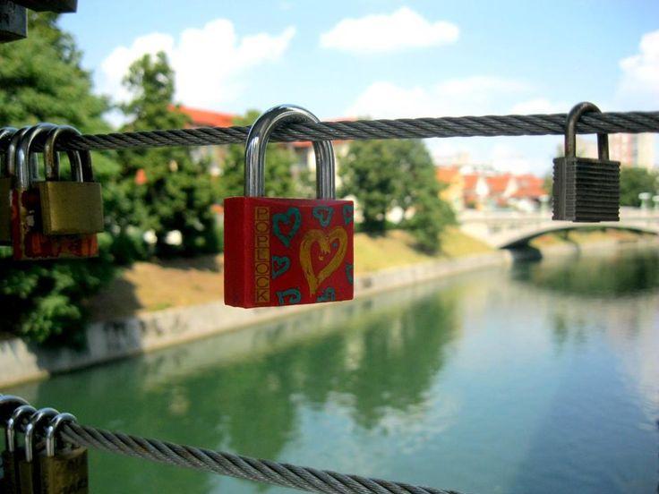 Butchers' Bridge in Ljubljana