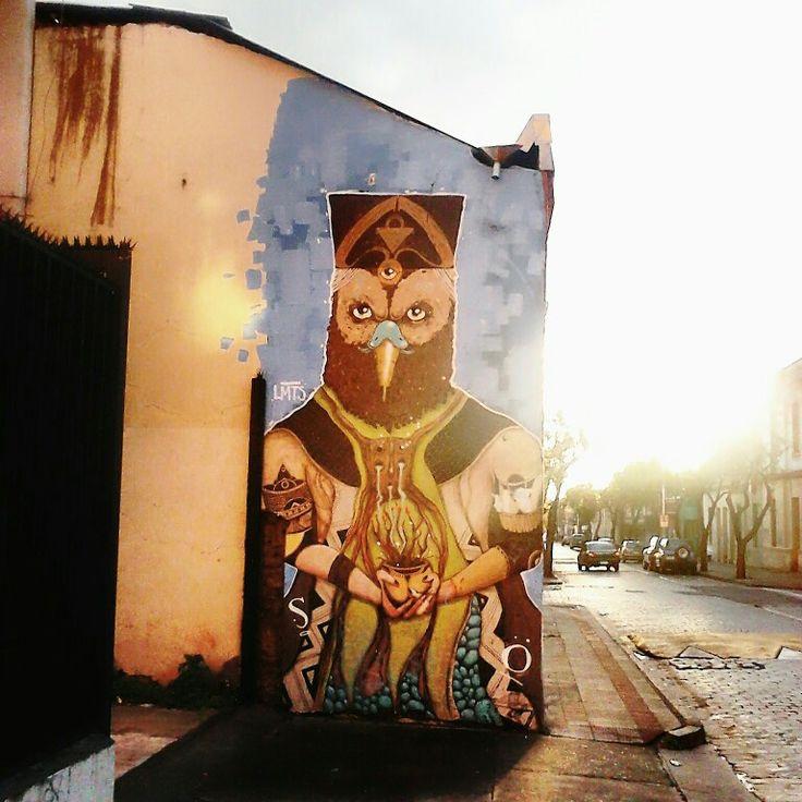 Street Art Chile Yungay Town, Santiago / Arte Callejero Barrio Yungay Santiago de Chile