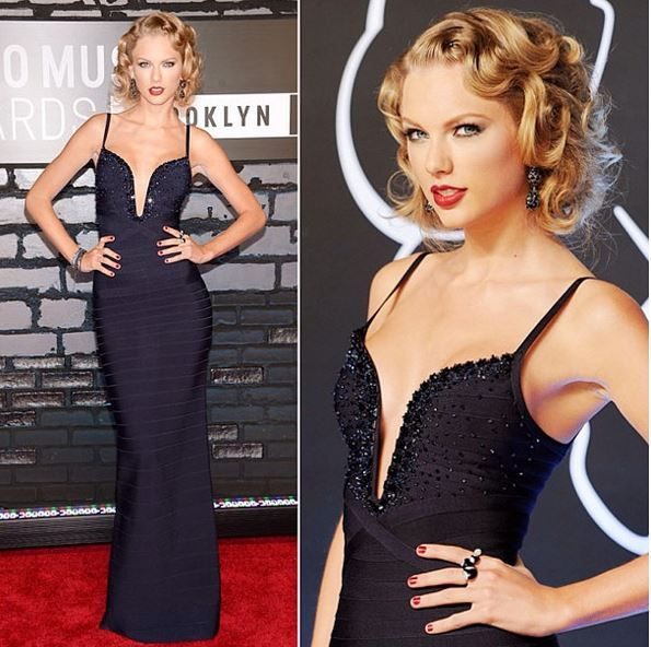 Taylor Swift attends the 2013 MTV Video Music Awards