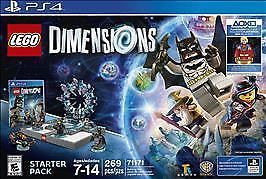 Lego Dimensions Starter Pack 2016, Playstation 4 PS4 (New, Sealed Box) #LEGO