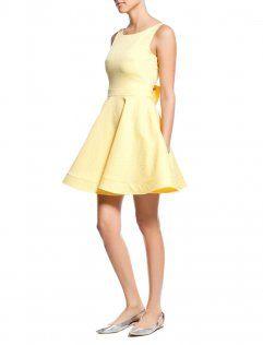 Koton Sarı Elbise