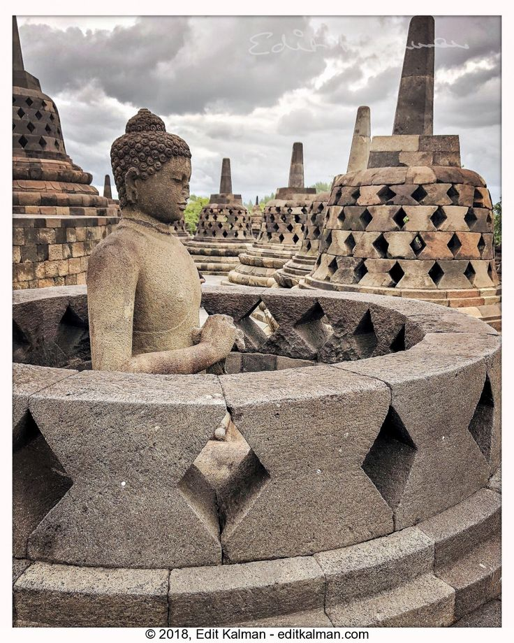 The Path of the Buddha #Ancient, #Asia, #Borobudur, #Buddha, #Buddhism, #Buddhist, #Heritage, #Holy, #Indonesia, #Jogja, #Pilgrimage, #Sculpture, #Statue, #Stupa, #Temple, #Tourism, #Travel, #Yogyakarta - https://goo.gl/5uswLi