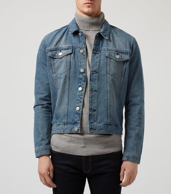 Blue Basic Denim Jacket - New Look
